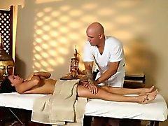 Segreti cinema voyeur del cattivo masseur penetra clienti di