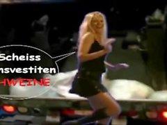 Die Latex Maid Luder # Scheiss Transvestitenschweine