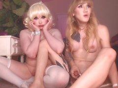 Lena & Sarina Cam Show