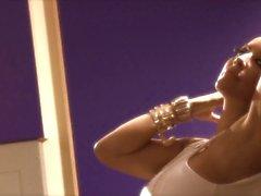 Buxom latina babe Kiara Mia has interracial sex with thug