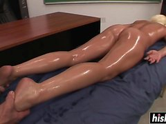 Shay Golden gets fucked during her massage