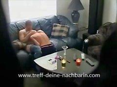 Saksan Milf Nachbarin gefickt und heimlich gefilmt