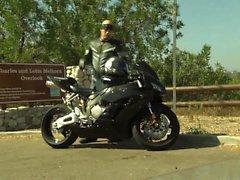 Gia Paloma è cazzo con biker