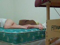hd-ver mis pies mientras me joroba mi video-cama completa