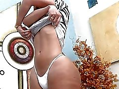 Hot TS Gabriela Ferrari fucks her boylet