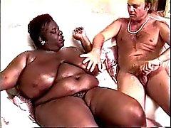 Kandee Lopes ( Negro Gordas ) & Blake Palmer Blanco (america )