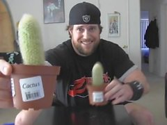 Man Deep Throats Cactus