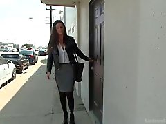 Raunch Reporter India Summer Trained as a Sex Slave - Hardcore GangBang