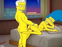 Cartoon Porn Simpsons Porn mom Marge have