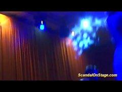 lapdance no palco mostra pública
