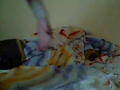 jugendlich cortanablue sich auf Live-Webcam fingern