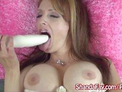 Shanda ha Fay Si prende in giro all'ultimo respiro esplodere!