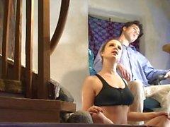 pescoço e ombro sentado relaxamento, Erin Electra
