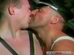 Classic BDSM/Leather scenes from Roger Earl's PICTURES FROM THE BLACK DANCE