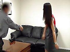 Bakom kulisserna Gjutning soffa 215 Monica