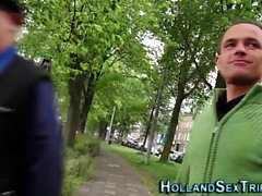 Gerçek hollandalı fahişe emme