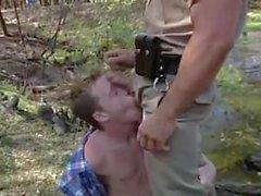Muscle Cop Fucks Twink