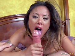 Kaylani Lei and Bradley Remington have blowjob sex on camera for u to see and have a fun