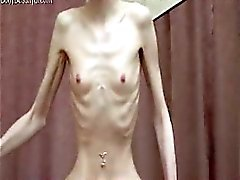 Crépus maigre pornstar osseuses l'anorexie posing