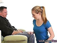 adolescentes aficionados culo cubierto de esperma