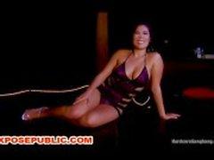 Groep Gangbang van Stripper in Club