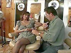 Zorra británica a Melanie follada en una escena clásica