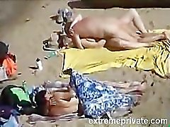 spying my aunt and mom on the Nude Beach