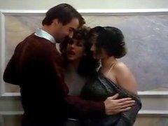 Barbara бойтесь Ronnie Диксона Майка Хорнером во потаскухи семидесятых порнографии трахали вместе с мясистое петух