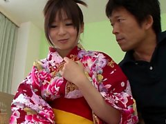 Nozomi Hazuki gets picked up - More at 69avs