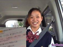 estudante japonês fodido
