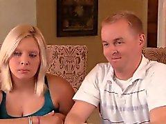 Amateur kääntymisen couple Darell ja Nikki