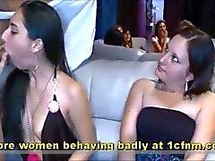 Echte Footage Mädchen an Bachelorette Vertragsparteien