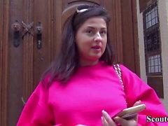 Tyska Scout - Real Street Casting för Teeny Coco del Mare