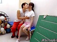 Om Hotaru Yukino Heta japanska schoolgirlen part5