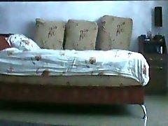 Amatör Esmer Escort Tutanak Seks sırasında bir Spycam video