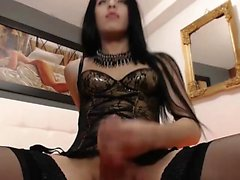 Corgeous Girly Colombian Tranny