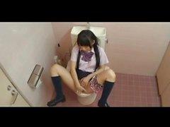 Japanische Schulmädchen Masturbation