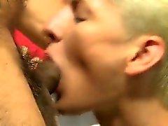 Gay jocks Collin and his step-son Benjamin become a lot clos