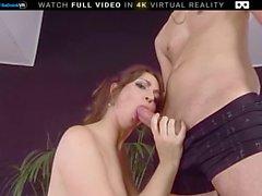 BaDoink VR Jacuzzi Zufriedenheit Für Miriam Prado VR Porn