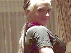Мои Hot сестрой Дрочу в течение 2 частных домов зажимами