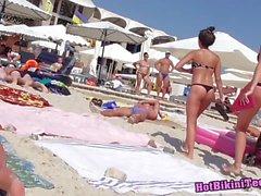 Sexig Trosa dam röv Milfs hoade bikini Tonåring stranden Voyeur Särskilda funktioner HD video