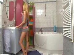 Euro Sisters Bathroom Fun