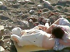 Cornei i dilettanti sulla spiaggia in segreto filmati