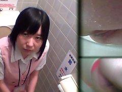 Adolescente asiático filmada pis