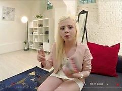 BITCHES ulkomailla - Ukrainan teini turisti saa munaa POV