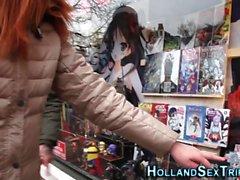 Holandês buceta brinquedos prostituta