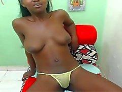 ebony menina quente Diana
