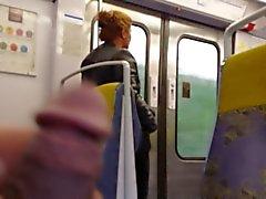 la masturbación dans le train