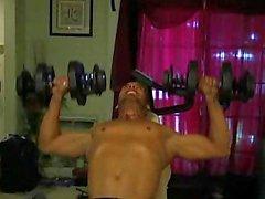 Workout de Marco Patricio Thong.