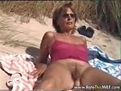 Hairy amateur mum outdoors Myong from 1fuckdatecom